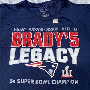 Patriots Super Bowl LI Long Sleeve T-Shirt